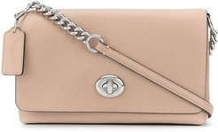 Crosstown cross-body bag - Neutrals