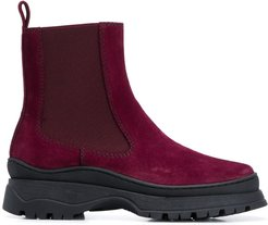 Nico Chelsea ankle boots - Red