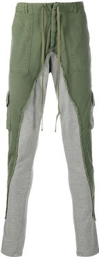 50/50 terry cargo trousers - Green
