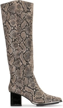 Vega knee-high boots - Brown