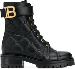 Ranger quilted ankle boots - Black
