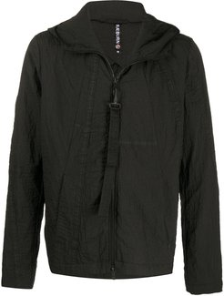 Parasuit crinkle-finish windbreaker - Black