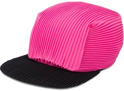 pleated cap - PINK