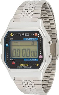 x Pac-Man T80 34mm watch - SILVER
