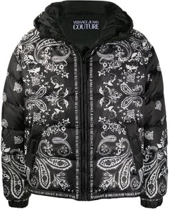 quilted baroque jacket - Black