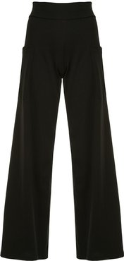 Mathis wide leg trousers - Black