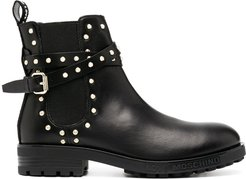 studded Chelsea boots - Black