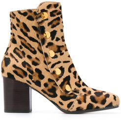 Marylebone ankle boots - Yellow