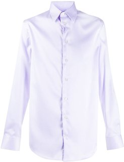 button down shirt - PURPLE