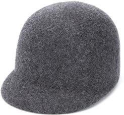 knitted wool cap - Grey