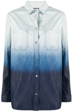 ombre denim shirt - Blue