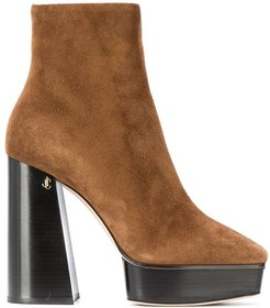 Bryn 125mm ankle boots - Brown