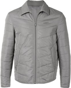 quilted jacket - Grey
