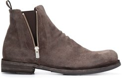 zip ankle boots - Grey