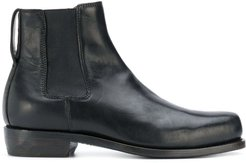 elasticated ankle boots - Black