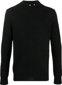 crew-neck jumper - Black