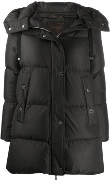 Nairobi quilted coat - Black