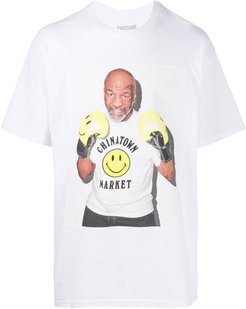 Mike Tyson T-shirt - White