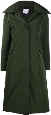 padded duffle coat - Green