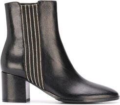 chunky-heel ankle boots - Black