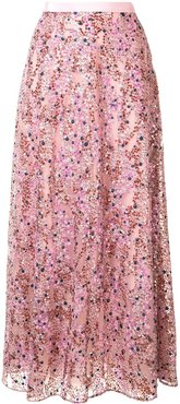sequin embellished skirt - PINK