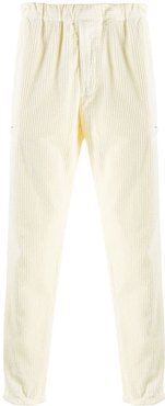 corduroy straight leg trousers - Neutrals