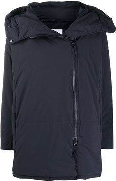 long-sleeved rain coat - Blue