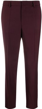 Emma cropped trousers - Red