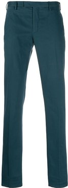 skinny-fit tailored trousers - Blue