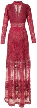 Kim evening dress - Red