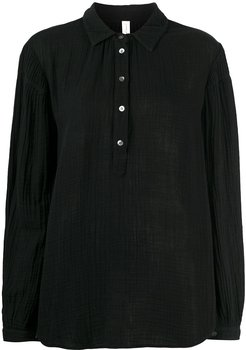 Empress cotton blouse - Black