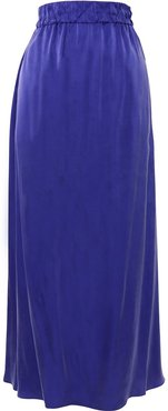 Destiny straight-silhouette skirt - Blue