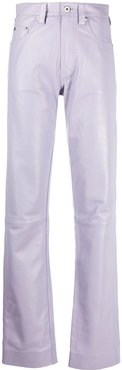 straight-leg trousers - PINK