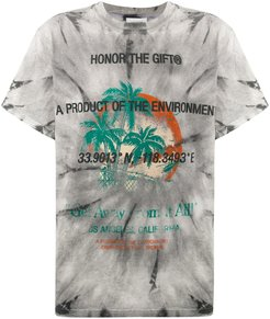 Product of the Enviroment tie-dye T-shirt - Grey
