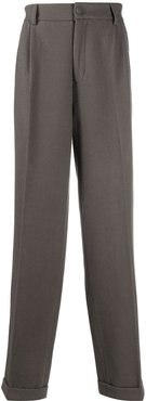 long tailored trousers - Grey