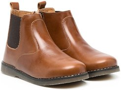leather Chelsea boots - Brown