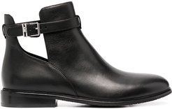 Lawson buckled ankle boots - Black