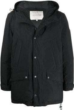 eVent hooded down jacket - Black