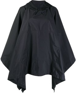 Alness hooded cape - Black