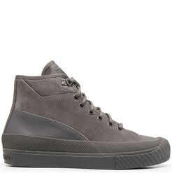 Island layered-footbed boots - Grey
