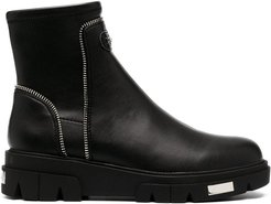 chunky ankle boots - Black