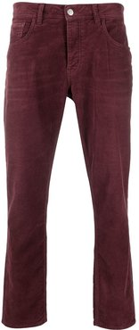 corduroy jeans - Red