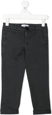 slim fit chino trousers - Grey