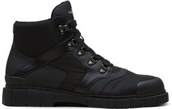 panelled ankle boots - Black