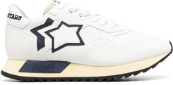 star-embellished sneakers - White