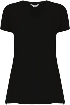 Canal short sleeves blouse - Black