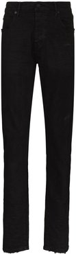 five-pocket skinny cut jeans - Black