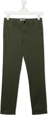 TEEN slim fit chinos - Green