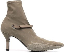 jersey sock boots - Grey
