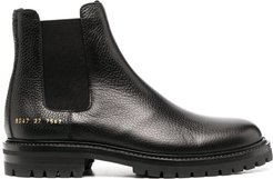 ankle-length Chelsea boots - Black